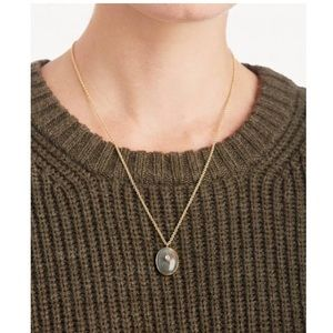 Sole Society Jewelry - NWT Sole Society set in stone labradorite necklace